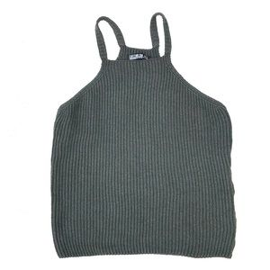 Ribbed Sweater Tank Top NWOT